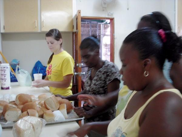 Bread cutting