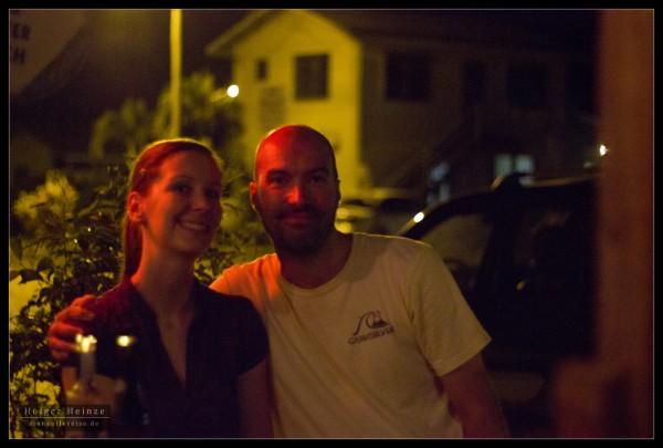 Kerstin and John at King Cassava