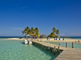 Arriving at Goff's Caye