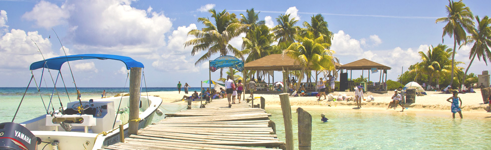 A Belizean birthday party on Goff's Caye